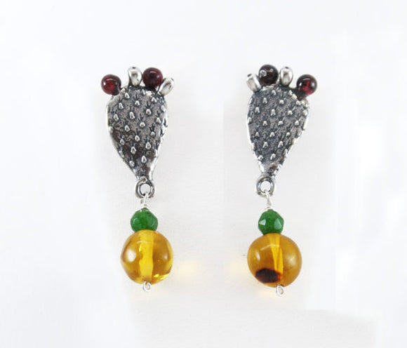 Cactus Earrings Medium