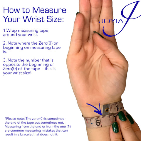 how to measure your hook bracelet size