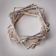 Square Bangle Bracelet - Joyia Jewelry