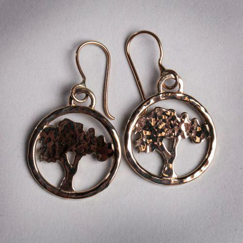 Tree of Knowledge Earrings - Joyia Jewelry