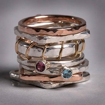 Stackable Rings - Joyia Jewelry