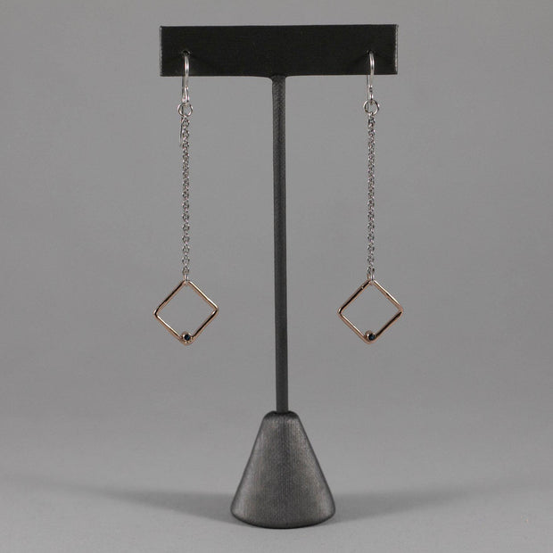 Diamante Drop Earrings - Joyia Jewelry