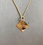 Engravable Charm - Joyia Jewelry