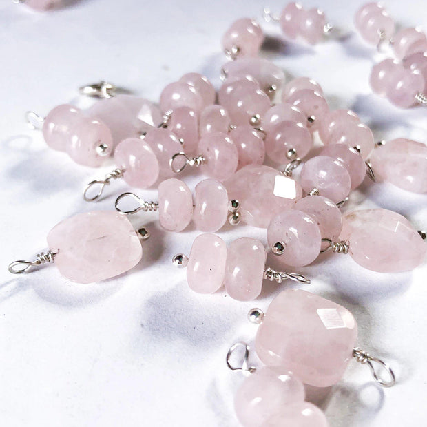 Rose Quartz Charm - Joyia Jewelry
