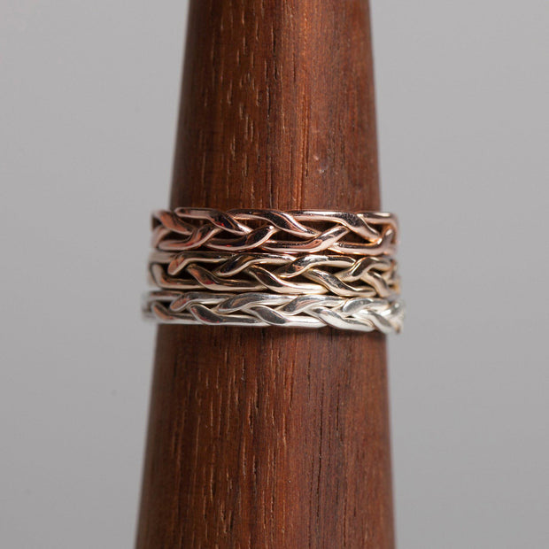Island Roots Mini Stackable Rings - Joyia Jewelry