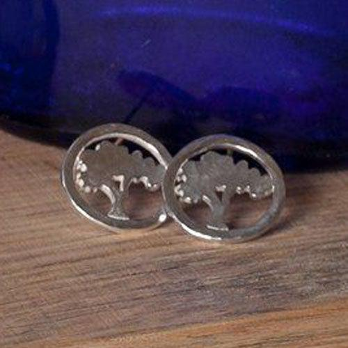 Mini Tree of Knowledge Earrings - Joyia Jewelry