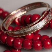 Oval Bangle Bracelet-Bracelets-Joyia Jewelry