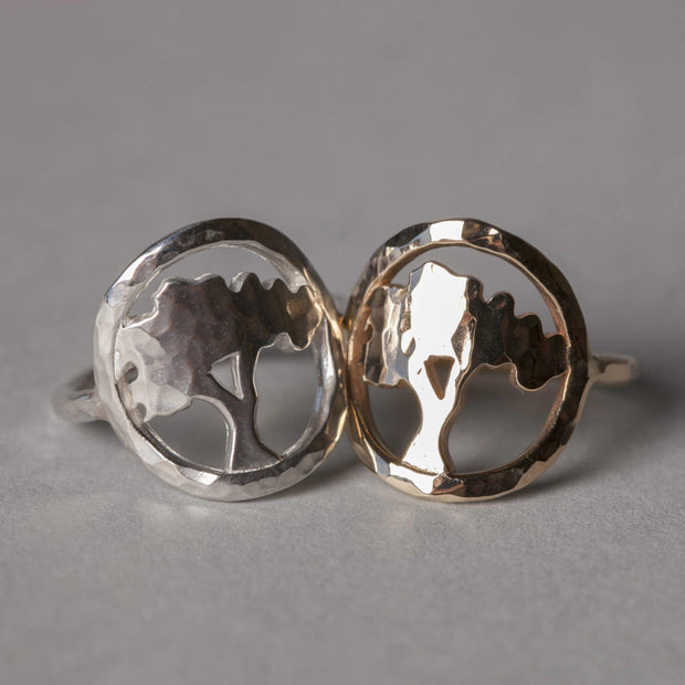 Tree of Knowledge Ring - Joyia Jewelry