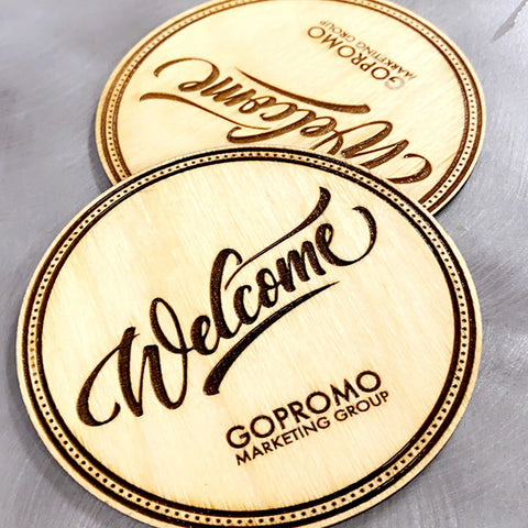 Engraved Coasters x 6