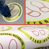 Floor Stickers (Social Distancing)