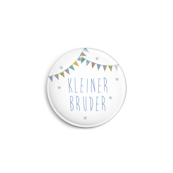 Ava & Yves Kleiner Bruder Button Pin
