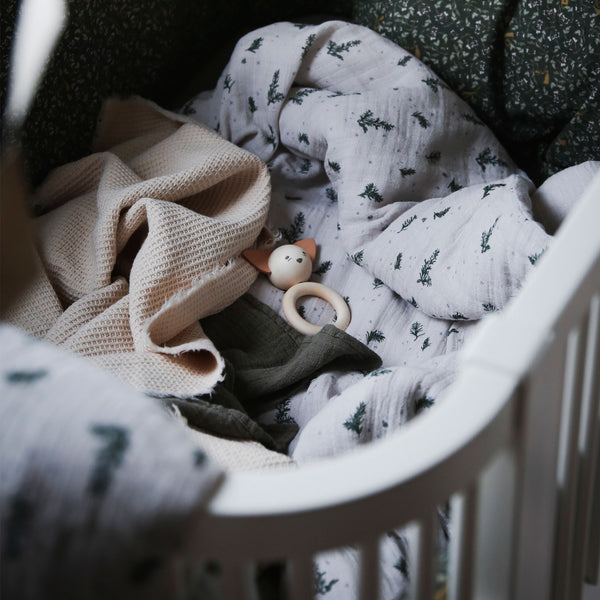 "Bio Swaddle Decke ""Rosemary"""