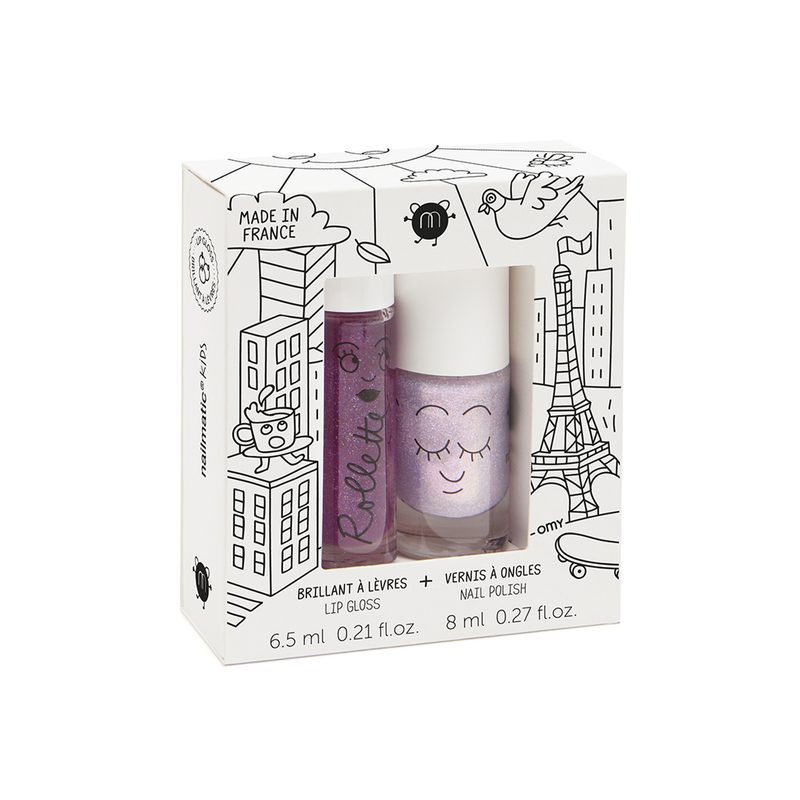 Kinder Nagellack und Lipgloss Set Lovely City
