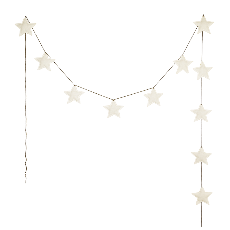 Girlande Mini Star