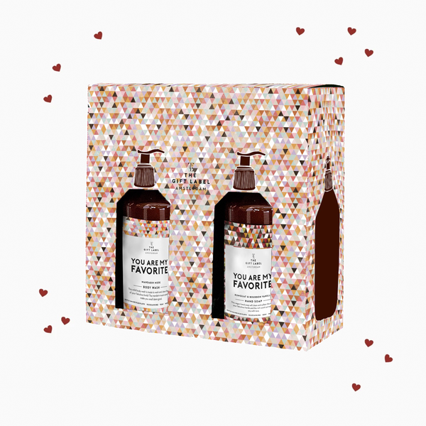"The Gift Label Handseife & Lotion Set Woman ""You are my favorite"""