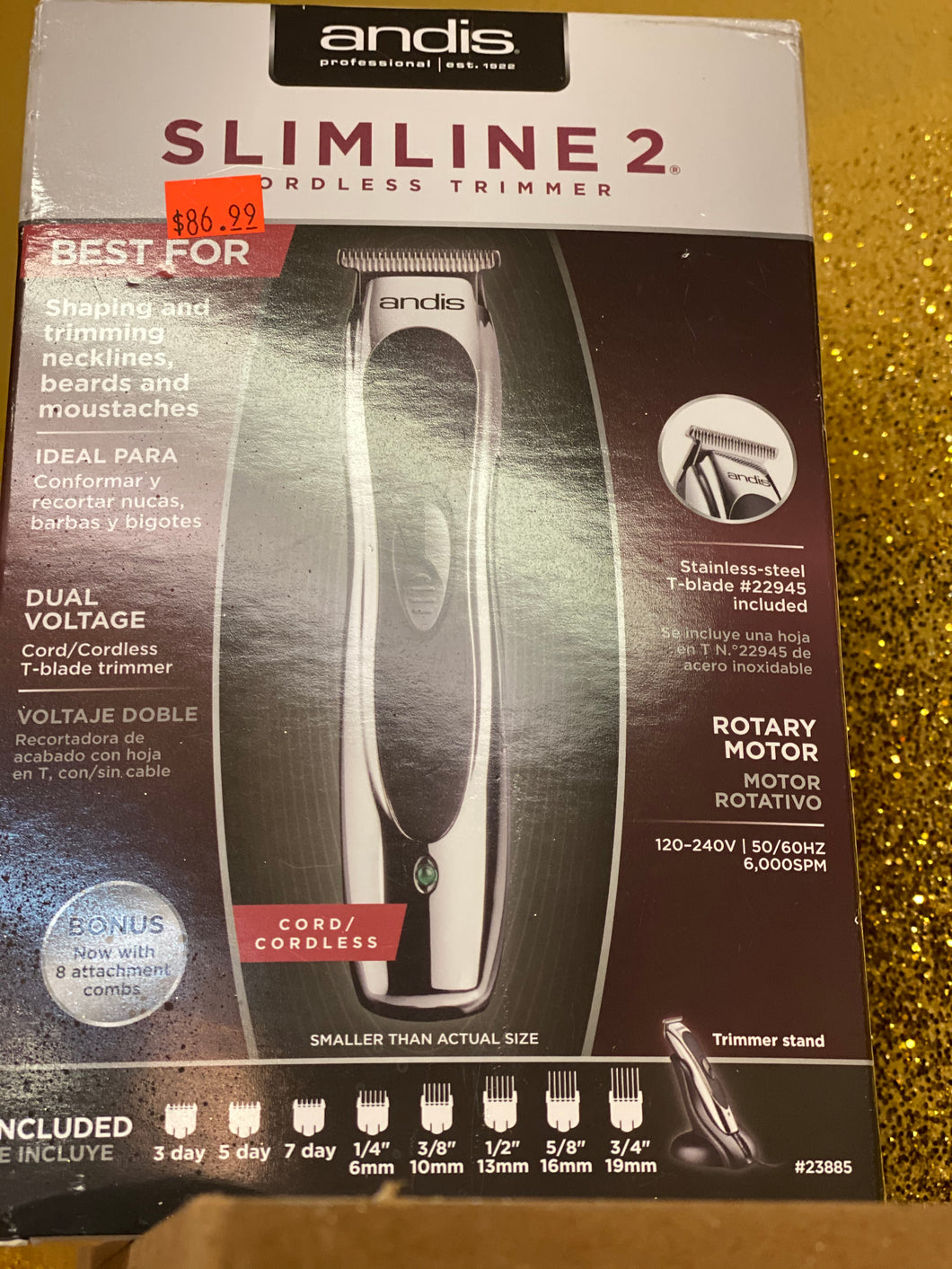 Copy of Slimline II Cordless trimmer