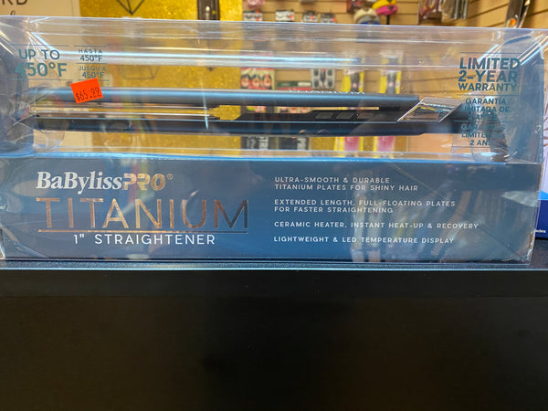 Copy of Babyliss Pro 1 1/2 Titanium Straightener
