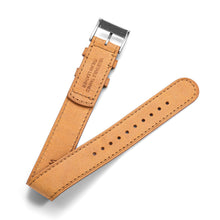 Load image into Gallery viewer, One-Piece Camel Leather Band & Steel Buckle
