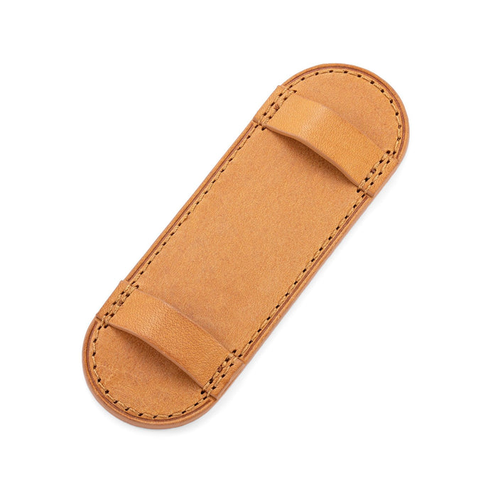 Camel Leather Pilot Plate for Bund Strap