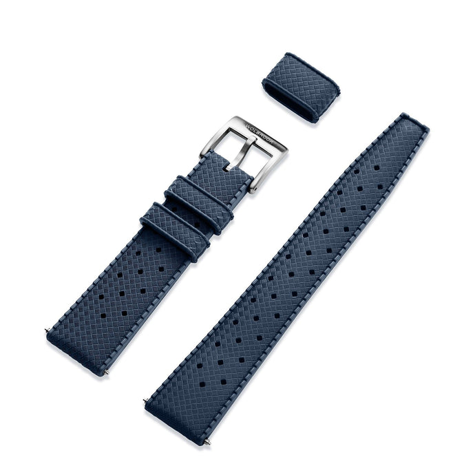 Blue Tropic strap 20mm with 316L stainless steel buckle