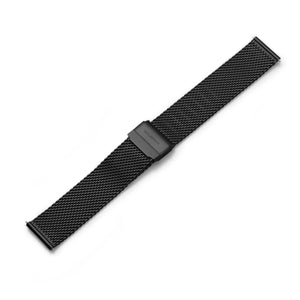 Mesh Strap Black PVD Stainless Steel