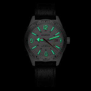 Skindiver WT Automatic - Green Super-LumiNova C7 on