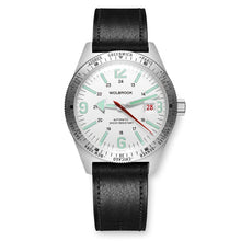 Load image into Gallery viewer, Skindiver WT Automatic - Green Super-LumiNova on White dial & Steel