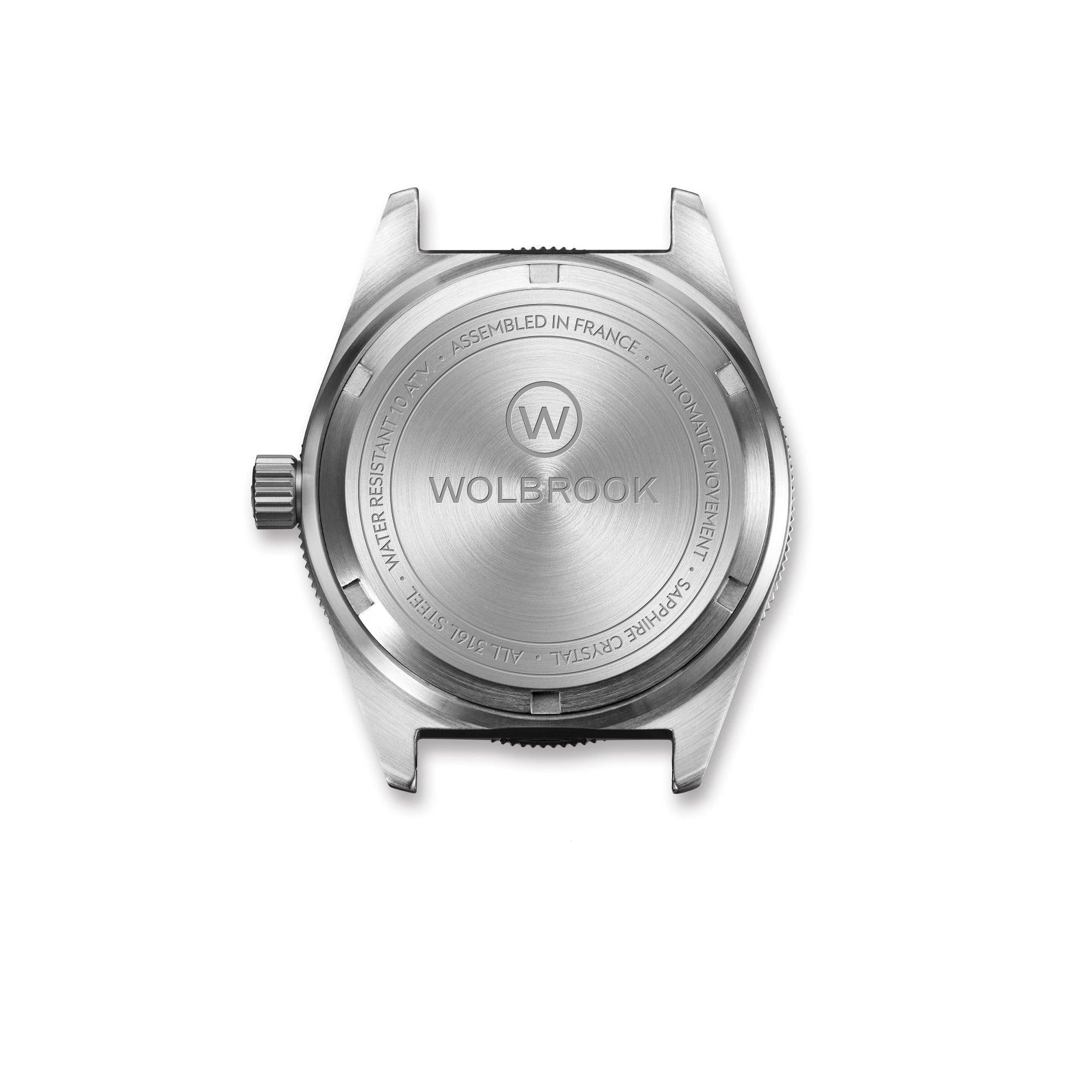 Skindiver WT Automatic-watch screw-down caseback