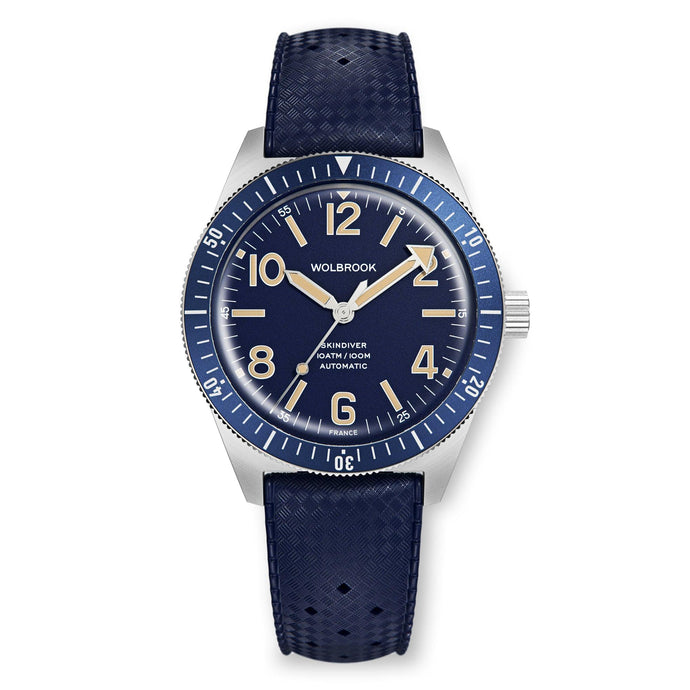 Skindiver Automatic Watch - Vintage Lum & Blue
