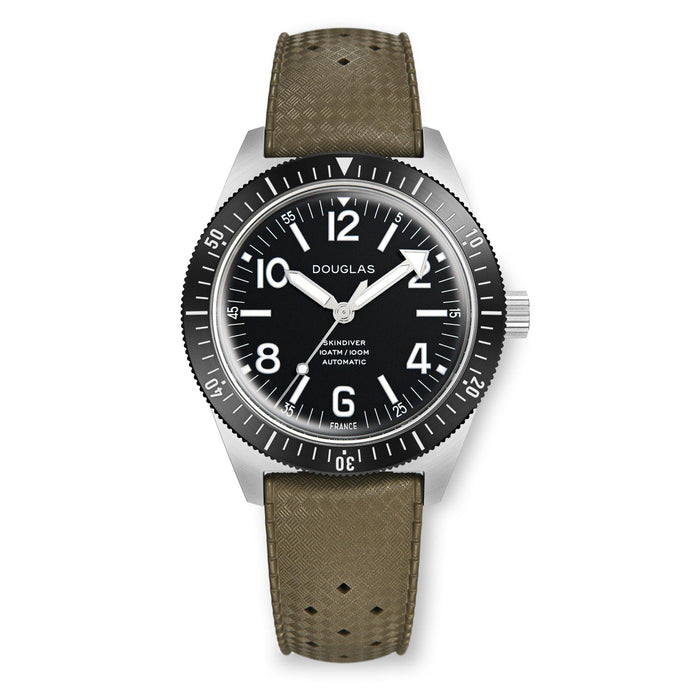 Skindiver Professional Tool-Watch - White Lum & Black Dial