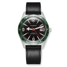 Load image into Gallery viewer, Skindiver WT Automatic - Vintage, Green Bezel & Steel