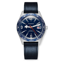Load image into Gallery viewer, Skindiver WT Automatic Blue dial and Blue Aluminum Bezel