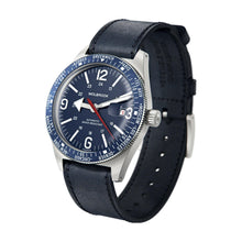 Load image into Gallery viewer, Skindiver WT Automatic Blue dial and Blue Aluminum Bezel 3/4