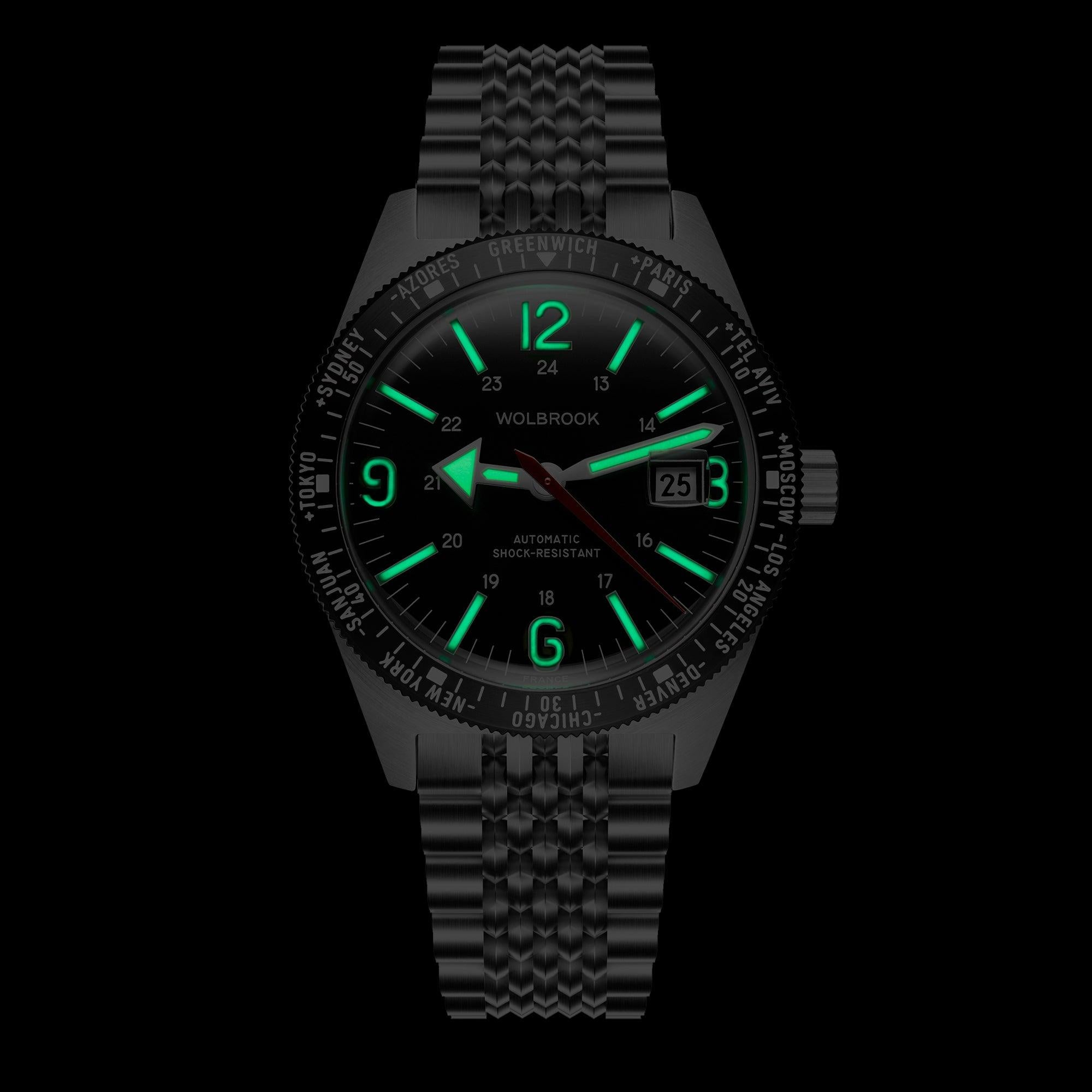 Skindiver WT Automatic Bracelet Watch