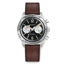 Load image into Gallery viewer, Skindiver WT Chrono-Mecaquartz Vintage Reverse Panda Chronograph