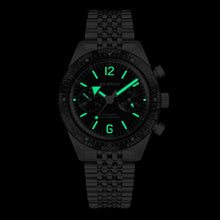 Load image into Gallery viewer, Skindiver WT Chrono-Mecaquartz Bracelet Chronograph