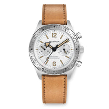Load image into Gallery viewer, Skindiver WT Chrono-Mecaquartz White Vintage Chronograph