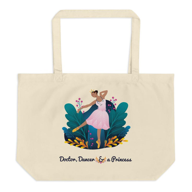 Women in STEM Eco-Friendly Tote Bag - Doctor and Dancer