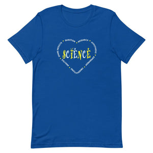 I Love Science Adult Unisex T-Shirt
