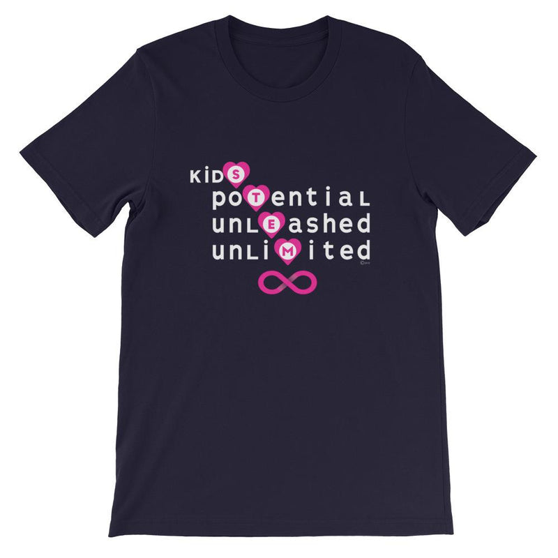 Adult size Kids Unlimited Potential STEM T-Shirt