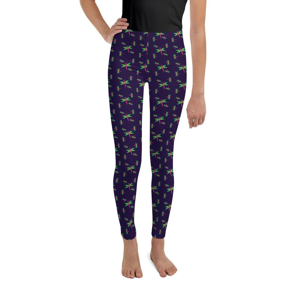 STEM Girl dragonfly leggings