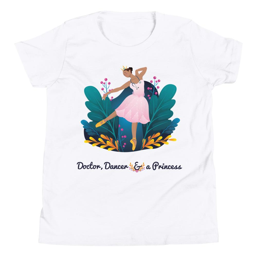 Black girl magic future doctor t-shirt
