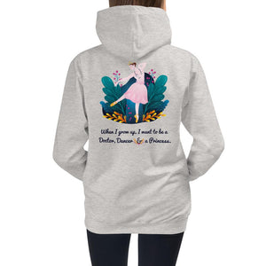 Doctor Dancer Princess Hoodie