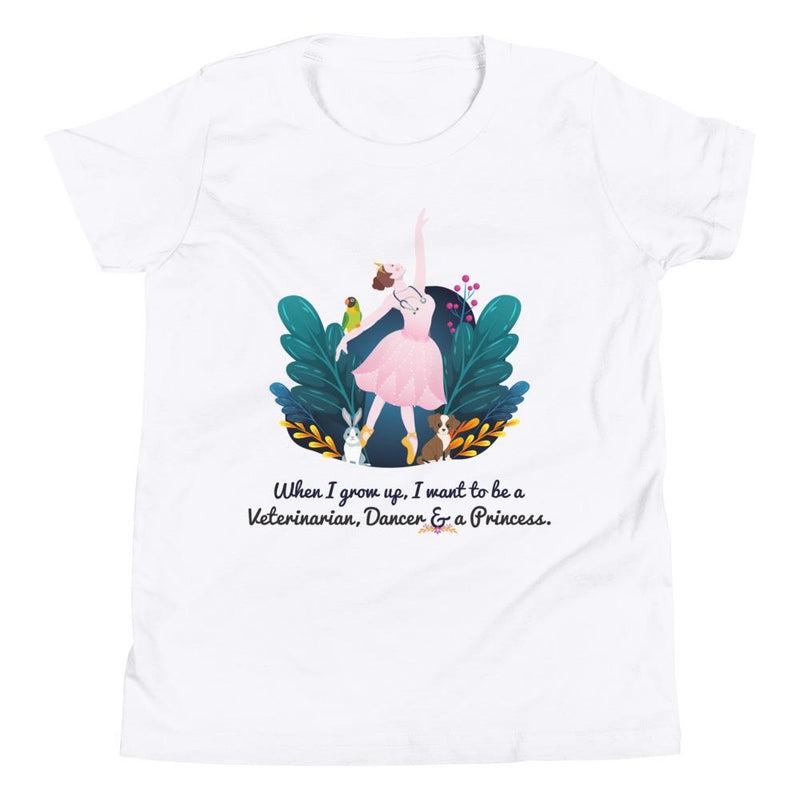 Veterinarian, Dancer, Princess STEM T-Shirt