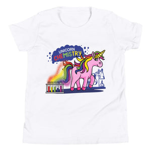 Pink Unicorn Chemistry STEM T-Shirt