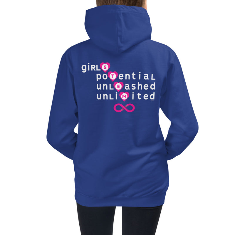front view Girls Potential hoodie