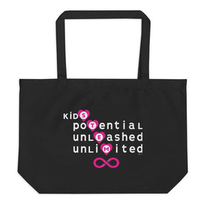 Kids Unlimited Potential through STEM Eco-Friendly Tote Bag