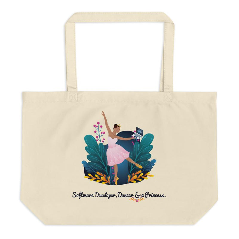 Women in STEM Eco-Friendly Tote Bag - Software Developer and Dancer