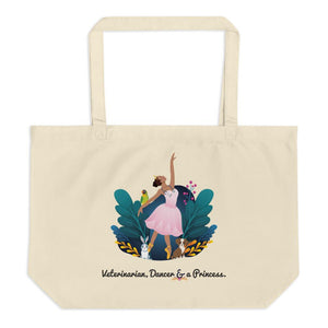 Women in STEM Eco-Friendly Tote Bag - Veterinarian and Dancer