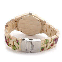 Load image into Gallery viewer, Bamboo Wood Watch With UV Printing